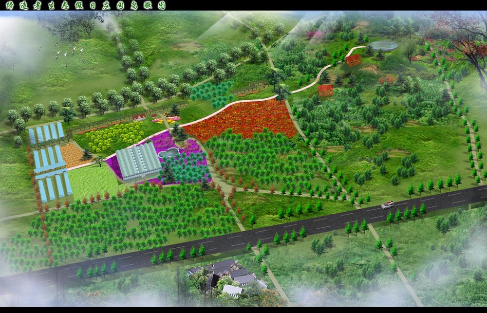 别墅庭院园林景观设计济南景观设计公司,济南园林设计